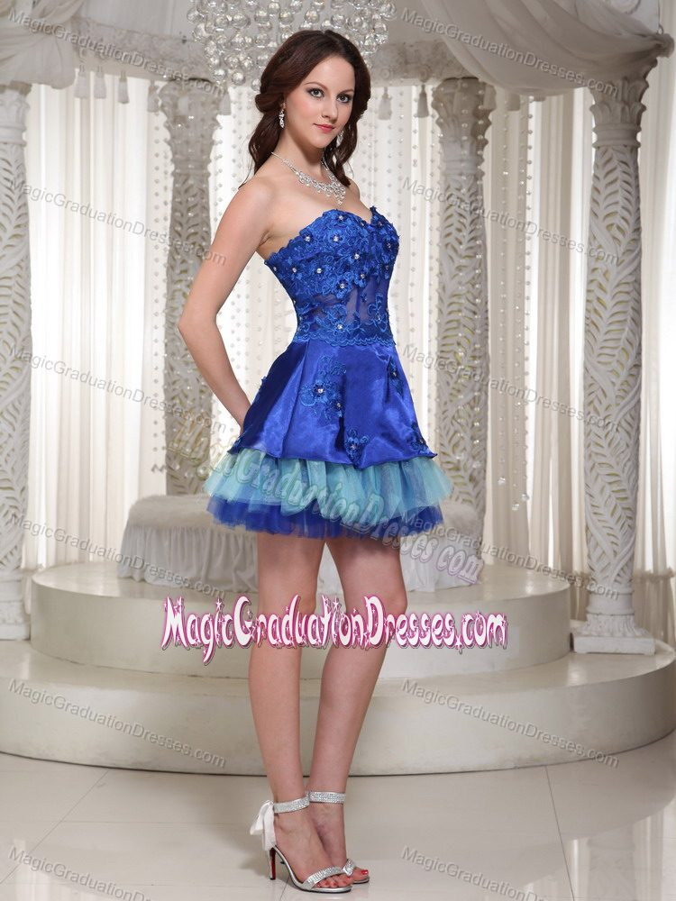 8th Grade Graduation Dresses Blue