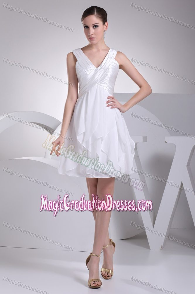 Graduation Dresses For High School White 45