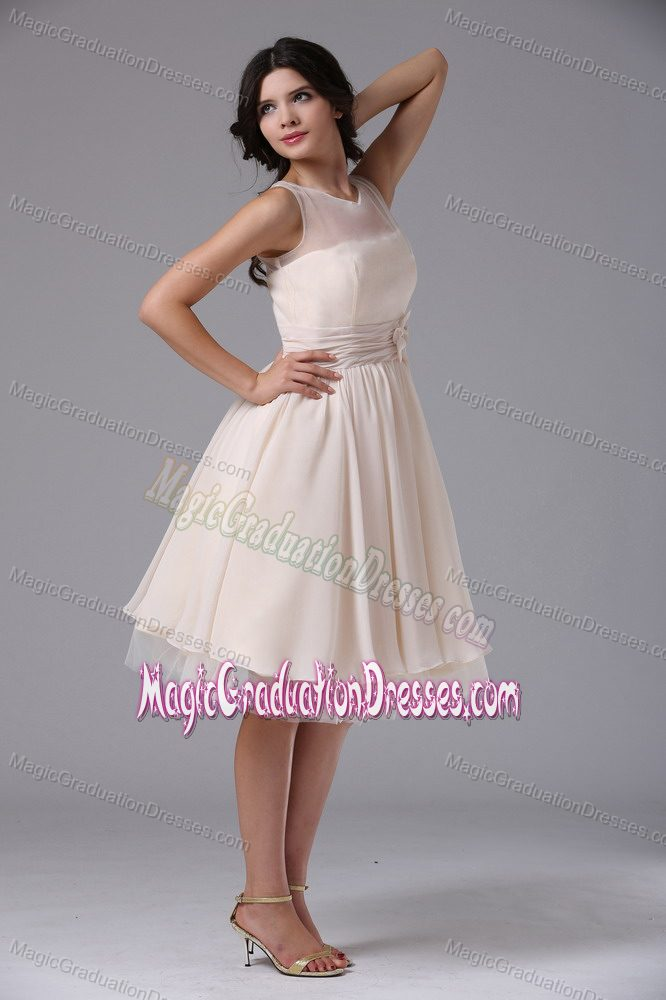 04430ec6e5 Milton Ontario Bateau Neck Flowers Graduation Dresses for High School