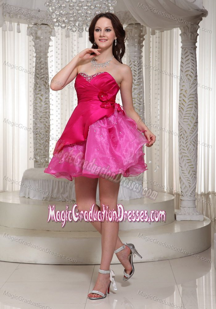 Organza Bead Sweetheart Flowers Graduation Dress in Hamilton Ontario