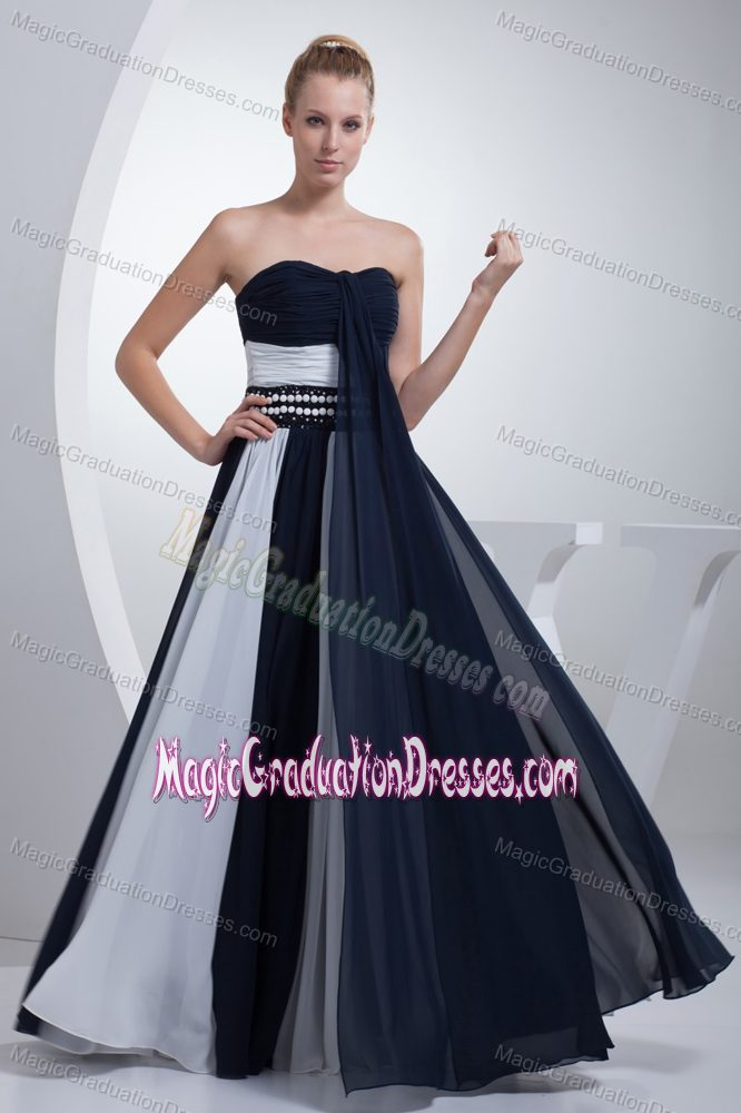 Blue And White Graduation Dresses 2020 for Less