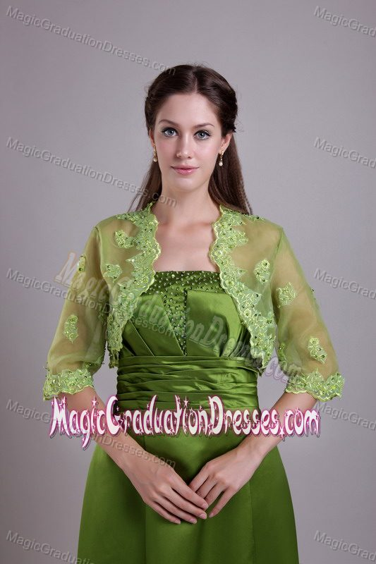 ... Ruched Beaded Olive Green Formal Graduation Dresses in Rockhampton