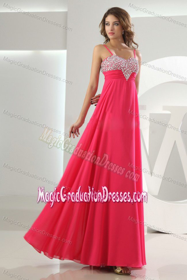 8th Grade Graduation Dress with Beading in Hot Pink in Oregon