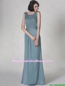 New Arrivals Scoop Backless 8th Grade Graduation Dresses with Floor Length