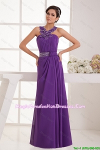 Classical Empire Straps Party Dresses with Beading
