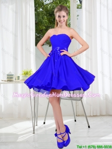 New Style A Line Sweetheart Graduation Dresses for Wedding Party