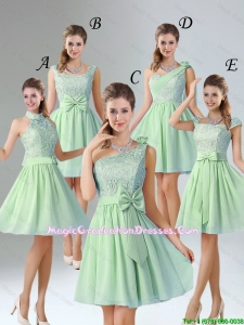 Romantic Short Graduation Dresses with Hand Made Flower for Wedding Party