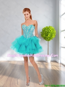 Latest Ball Gown Sweetheart Beaded Graduation Dresses in Multi Color