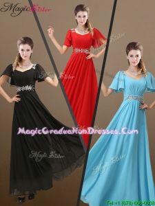 Perfect Empire Beading Graduation Dress for 2016 Fall