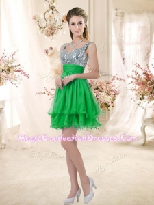 New Arrivals Short Straps Designer Graduation Dresses with Sequins for Fall