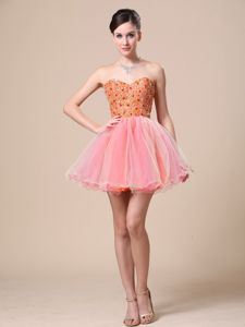 Sweetheart for School Spring Party Dress with Beaded Bodice Organza in Charleston