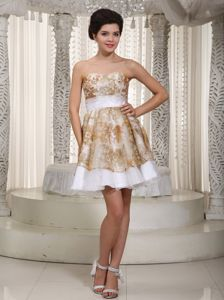 Sweetheart Lavender Senior Graduation Dress with Appliques in Elkhart