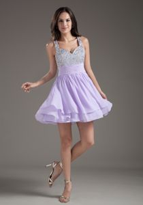 Perfect Straps Short White Senior Graduation Dresses with Beading in Norwalk
