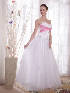 Princess Sweetheart Beads and Rhinestones Graduation Dresses for Girls in Callander
