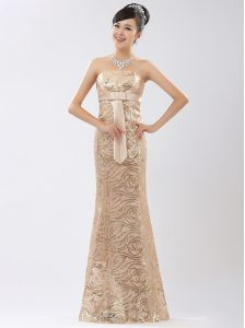 Modern Floor Length Champagne 15th Birthday Dress Sequined Sleeveless Appliques and Belt