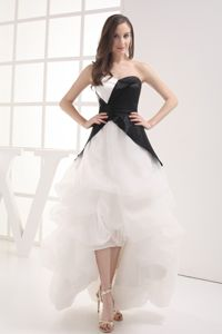 Pick-ups A-line Sweetheart High-low Graduation Dresses for Cheap