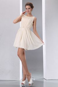 ... Scoop Mini-length Graduation Dresses for High School in Weston
