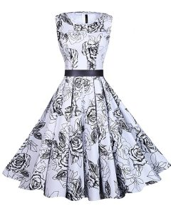 Enchanting White And Black Scoop Zipper Sashes ribbons and Pattern 15 Quinceanera Dress Sleeveless