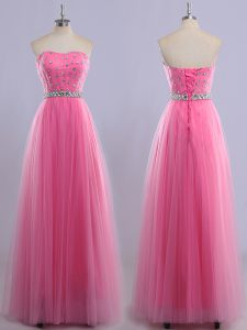 Dramatic Sleeveless Beading Lace Up Sweet 16 Quinceanera Dress